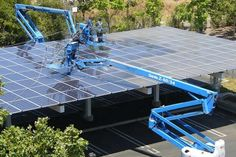 Cleaning solar