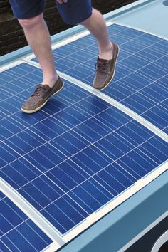 How much weight can a Solar Panel take
